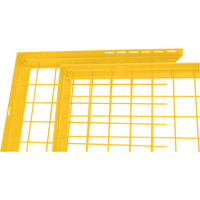 Wire Mesh Partition Components - Adjustable Filler Panels KH924 | NIS Northern Industrial Sales