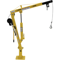 Winch Operated Truck Jib Crane LU494 | TENAQUIP