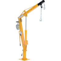 Winch Operated Truck Jib Crane LU495 | TENAQUIP
