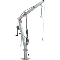Winch Operated Truck Jib Crane LU496 | TENAQUIP