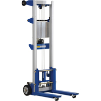Winch-Operated Fork Lift Stacker - Standard Design LU499 | TENAQUIP