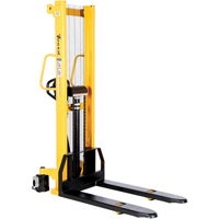 Manual Hydraulic Hand Pump Stacker LV615 | TENAQUIP