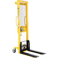 Manual Hand Winch Stacker LV618 | TENAQUIP