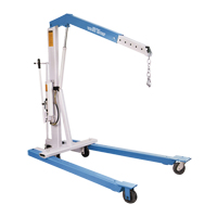 Portable Floor Crane LW040 | NIS Northern Industrial Sales