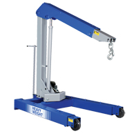 Portable Floor Crane LW042 | NIS Northern Industrial Sales