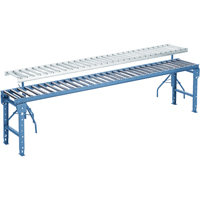 "10' Aluminum Conveyors - 1 1/2"" Rollers MA031 