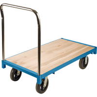Wood Deck Platform Truck | NIS Northern Industrial Sales
