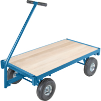 Wood Deck Wagon Truck | NIS Northern Industrial Sales