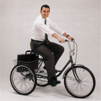 Execu Trike Tricycles MD395 | TENAQUIP