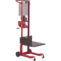 Mobile® Winch-Operated Platform Lift Stacker MF126 | TENAQUIP