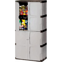 Heavy-Duty Rubbermaid® Plastic Cabinets MH722 | NIS Northern Industrial Sales