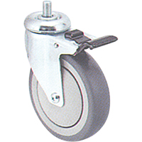 Zinc Plated Caster MI946 | NIS Northern Industrial Sales