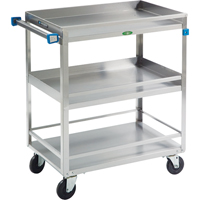 Stainless Steel Guard Rail Carts MK975 | NIS Northern Industrial Sales