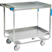 Stainless Steel Guard Rail Carts MK976 | NIS Northern Industrial Sales