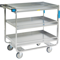 Stainless Steel Guard Rail Carts MK977 | NIS Northern Industrial Sales