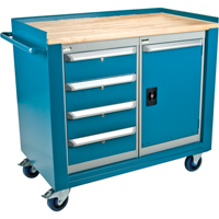 Mobile Cabinet Workbench | NIS Northern Industrial Sales