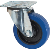 Blue Elastic Rubber Caster ML337 | TENAQUIP