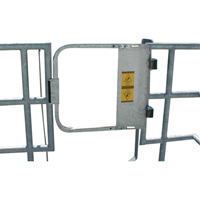 Self-Closing Safety Swing Gates ML382 | NIS Northern Industrial Sales
