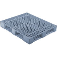 Medium-Duty Rackable Plastic Pallets MN172 | NIS Northern Industrial Sales