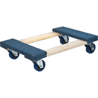 Carpeted Ends Hardwood Dolly MN214 | TENAQUIP