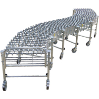 Nestaflex<sup>®</sup> Gravity 376AL Expandable/Flexible Conveyors MO413 | NIS Northern Industrial Sales