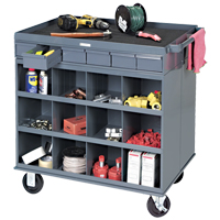 Heavy-Duty Two-Sided Mobile Work Station MO070 | NIS Northern Industrial Sales