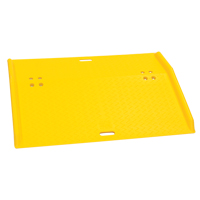 Portable Poly Hand Truck Dock Plate MO111 | TENAQUIP