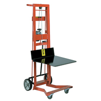 Winch-Operated Platform Lift Stacker MO133 | TENAQUIP