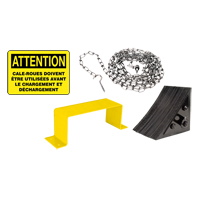 Wheel Chock Kit - French MO245 | NIS Northern Industrial Sales