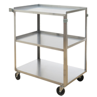 Stainless Steel Shelf Carts MO251 | NIS Northern Industrial Sales