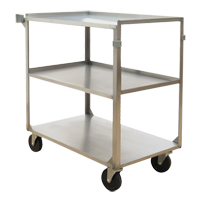 Stainless Steel Shelf Carts MO254 | NIS Northern Industrial Sales