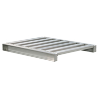 Aluminum 2-Way Channel Pallet MO454 | NIS Northern Industrial Sales