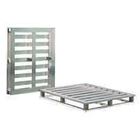 Aluminum 4-Way Tube Frame Pallet MO456 | NIS Northern Industrial Sales