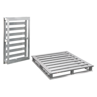 Aluminum 4-Way Tube Frame Pallet MO457 | NIS Northern Industrial Sales