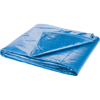 Polyethylene Tarpaulins - Standard-Duty Blue NI768 | NIS Northern Industrial Sales