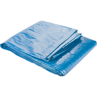 Polyethylene Tarpaulins - Standard-Duty Blue NI776 | NIS Northern Industrial Sales