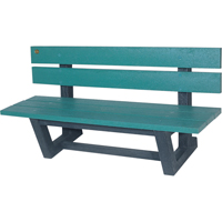 Recycled Plastic Outdoor Park Benches NJ026 | NIS Northern Industrial Sales