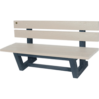 Recycled Plastic Outdoor Park Benches NJ027 | NIS Northern Industrial Sales