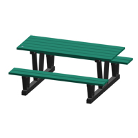 Recycled Plastic Outdoor Picnic Tables NJ036 | NIS Northern Industrial Sales