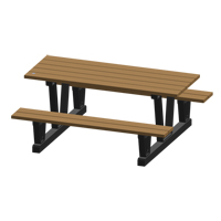 Recycled Plastic Outdoor Picnic Tables NJ038 | NIS Northern Industrial Sales