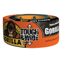 Tough & Wide Black Gorilla Duct Tape NKA483 | NIS Northern Industrial Sales