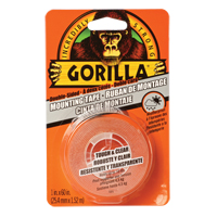 Gorilla Tough & Clear Mounting Tape NKA486 | NIS Northern Industrial Sales
