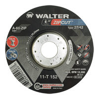 Zipcut™ Right Angle Grinder Reinforced Cut-Off Wheels NS767 | NIS Northern Industrial Sales