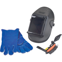 WELDING PACK DELUXEHELMET, HAMMER, GLOVES NT577 | NIS Northern Industrial Sales
