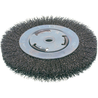 Economy Crimped Wire Wheel Brushes - Medium Face NU098 | NIS Northern Industrial Sales