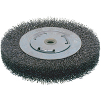Economy Crimped Wire Wheel Brushes - Wide Face NU103 | NIS Northern Industrial Sales