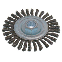 Economy High Speed Stringer Bead Knot Wire Wheel Brush NU105 | NIS Northern Industrial Sales