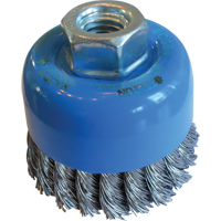 "2-3/4"" Knotted Wire Wheel Cup Brushes TT279 