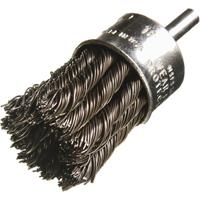 20000 RPM 1 Trim.020 Fill Diameter - 1//2 Diameter Felton Brushes E204 Pack of 10 Crimped Wire End Brush Steel Fill