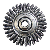 TufBrush™ Knot Wire Wheel Brush NV171 | NIS Northern Industrial Sales